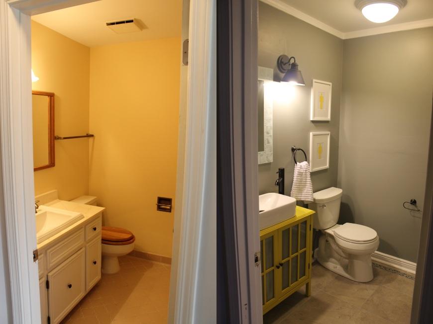 bathroombeforeandafter