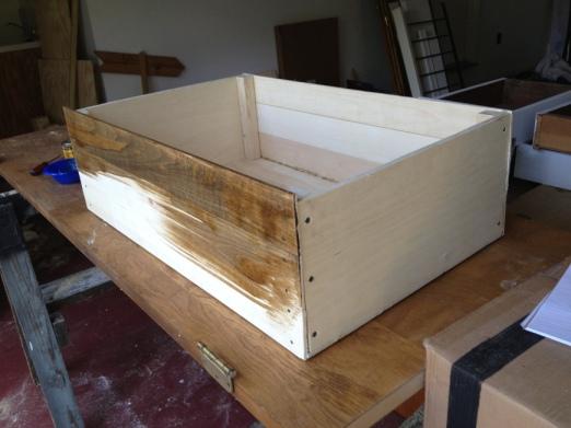 stain box